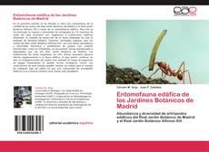 Portada del libro de Entomofauna edáfica de los Jardines Botánicos de Madrid