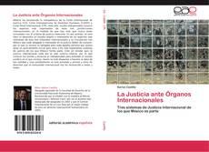 Portada del libro de La Justicia ante Órganos Internacionales