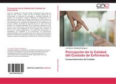 Обложка Percepción de la Calidad del Cuidado de Enfermería