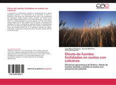Capa do livro de Efecto de fuentes fosfatadas en suelos con calcáreo