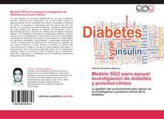 Copertina di Modelo SGC para apoyar investigación de diabetes y proceso clínico
