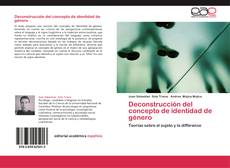Capa do livro de Deconstrucción del concepto de identidad de género