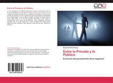 Buchcover von Entre lo Privado y lo Público