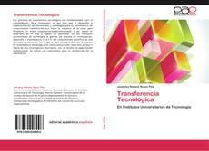 Capa do livro de Transferencia Tecnológica