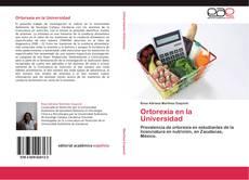 Bookcover of Ortorexia en la Universidad