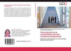 Capa do livro de Vinculación de la universidad con los sectores productivos