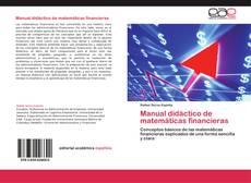 Buchcover von Manual didáctico de matemáticas financieras