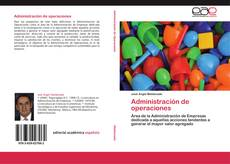 Capa do livro de Administración de operaciones