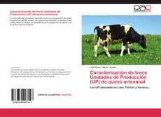 Capa do livro de Caracterización de trece Unidades de Producción (UP) de queso artesanal
