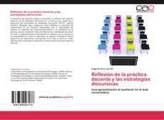 Portada del libro de Reflexión de la práctica docente y las estrategias discursivas