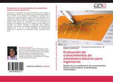 Borítókép a  Evaluación de conocimientos de estadística básicos para ingenieros. - hoz