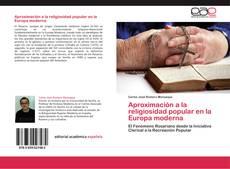 Aproximación a la religiosidad popular en la Europa moderna kitap kapağı