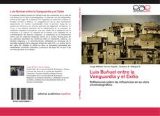 Portada del libro de Luis Buñuel entre la Vanguardia y el Exilio