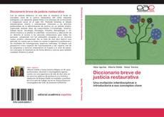 Обложка Diccionario breve de justicia restaurativa