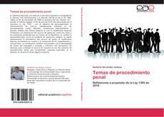 Borítókép a  Temas de procedimiento penal - hoz