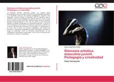Bookcover of Gimnasia artística masculina juvenil. Pedagogía y creatividad