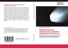 Portada del libro de Optimización de estructuras mediante Algoritmos Genéticos