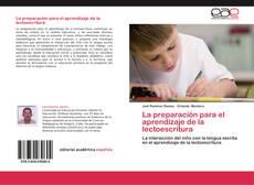 Обложка La preparación para el aprendizaje de la lectoescritura