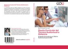Capa do livro de Diseño Curricular del Técnico Audiovisual a Distancia