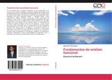 Capa do livro de Fundamentos de análisis funcional