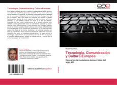 Buchcover von Tecnología, Comunicación y Cultura Europea