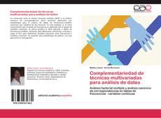 Copertina di Complementariedad de técnicas multivariadas para análisis de datos
