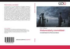 Couverture de Historicidad y carnalidad
