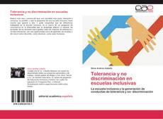 Copertina di Tolerancia y no discriminación en escuelas inclusivas