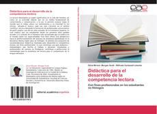 Copertina di Didáctica para el desarrollo de la competencia lectora