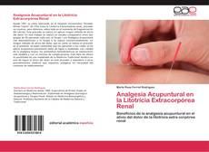 Portada del libro de Analgesia Acupuntural en la Litotricia Extracorpórea Renal