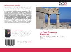 Capa do livro de La filosofía como dialéctica