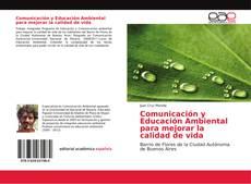 Portada del libro de Comunicación y Educación Ambiental para mejorar la calidad de vida
