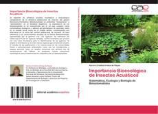 Portada del libro de Importancia Bioecológica de Insectos Acuáticos