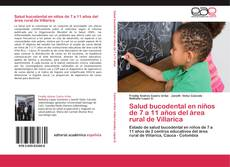 Capa do livro de Salud bucodental en niños de 7 a 11 años del área rural de Villarica