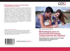 Portada del libro de Metodología para el desarrollo del trabajo independiente de estética