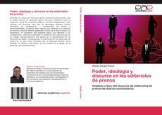 Portada del libro de Poder, ideología y discurso en los editoriales de prensa