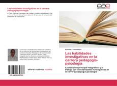 Capa do livro de Las habilidades investigativas en la carrera pedagogía-psicología
