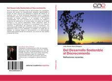 Buchcover von Del Desarrollo Sostenible al Decrecimiento
