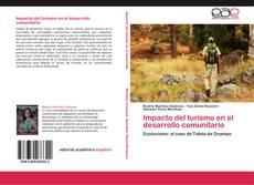 Portada del libro de Impacto del turismo en el desarrollo comunitario