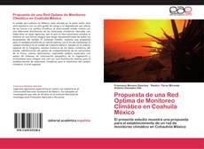 Обложка Propuesta de una Red Optima de Monitoreo Climático en Coahuila México