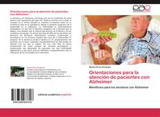 Couverture de Orientaciones para la atención de pacientes con Alzheimer