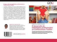 Buchcover von El desarrollo de habilidades profesionales en Confecciones Textiles