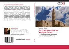 La construcción del Antiguo Israel kitap kapağı
