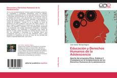 Portada del libro de Educación y Derechos Humanos de la Adolescencia