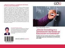 Borítókép a  ¿Efecto Crowding-in o señalización del Gasto en Educación en Colombia? - hoz