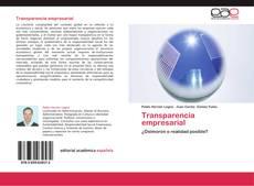 Copertina di Transparencia empresarial