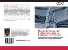 Copertina di Modelo de Gestión del Conocimiento para la Gestión de Información