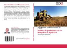 Índices Explotativos de la Maquinaria Agrícola的封面