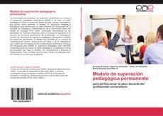 Bookcover of Modelo de superación pedagógica permanente