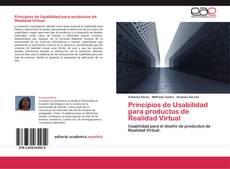 Portada del libro de Principios de Usabilidad  para productos de Realidad Virtual